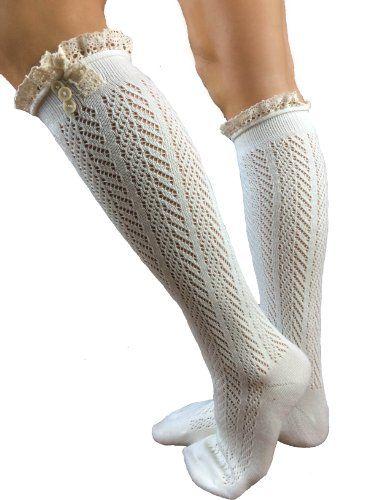 BESTSELLER! Lucky Love Lace Boot Socks $16.99