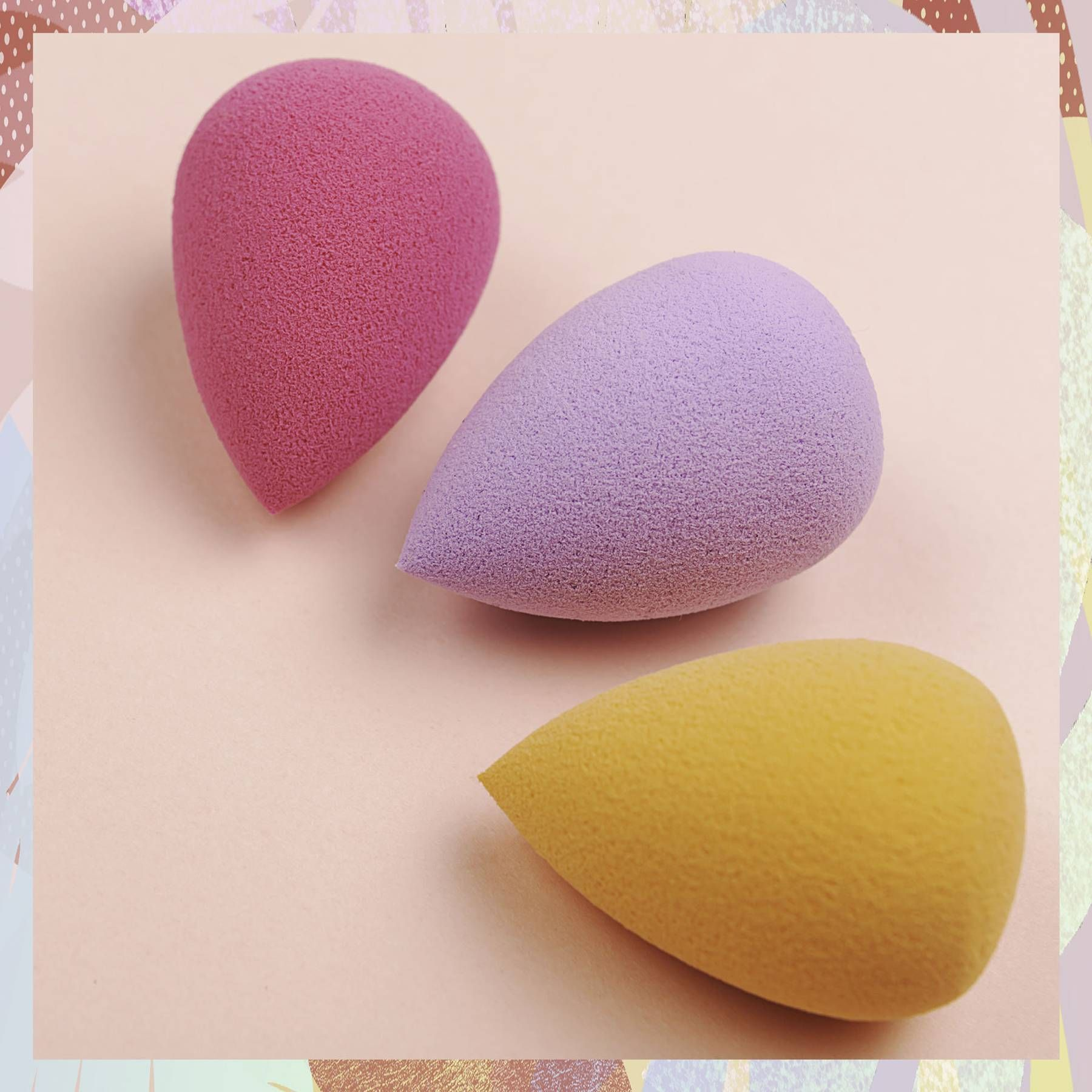 Here's what each type of makeup sponge actually does
