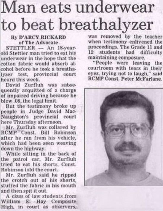 Funny Newspaper Headlines | Newspapers Articles that Say What ...