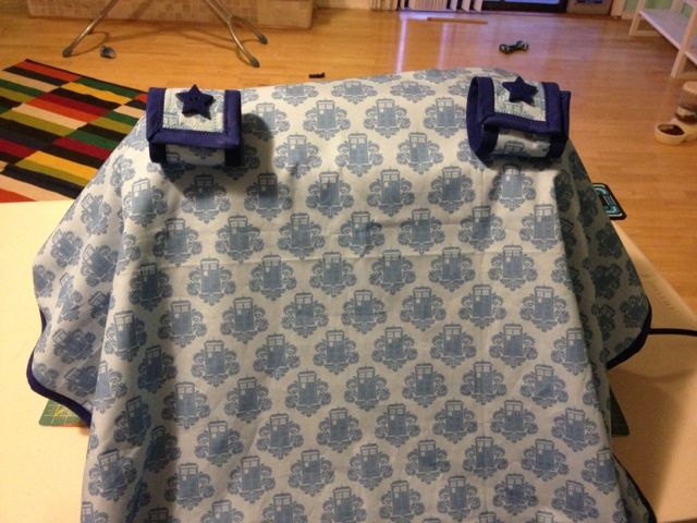 This Is The Tardis Baby Car Seat Cover I Want My Doctor Who Nursery