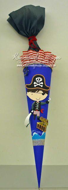 Schultüte Pirat / School cone Pirate