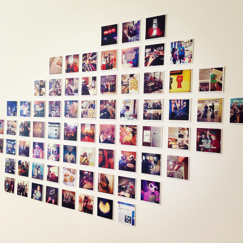квартире как сделать панно из фотографий в инстаграме такие красавицы пеларгонии