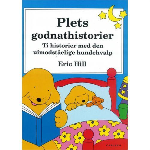 Plets Godnathistorier Hardback Af Eric Hill Coop Dk Med Billeder Borneboger Boger Hundehvalp