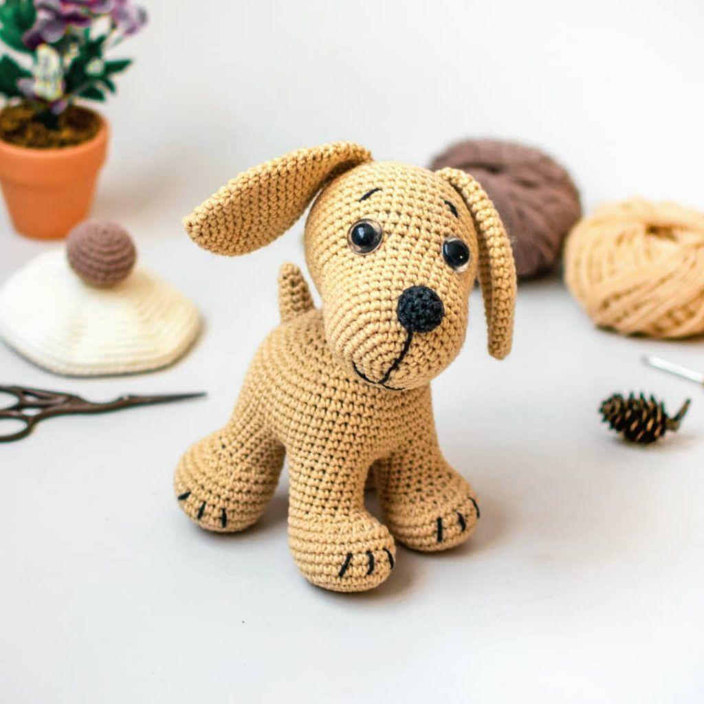 25 Free Amigurumi Dog Crochet Patterns to Download Now! | 1024x1024
