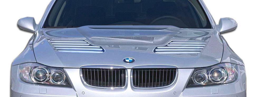2006-2008 BMW 3 Series E90 4DR Duraflex GT-R Look Hood - 1 Piece