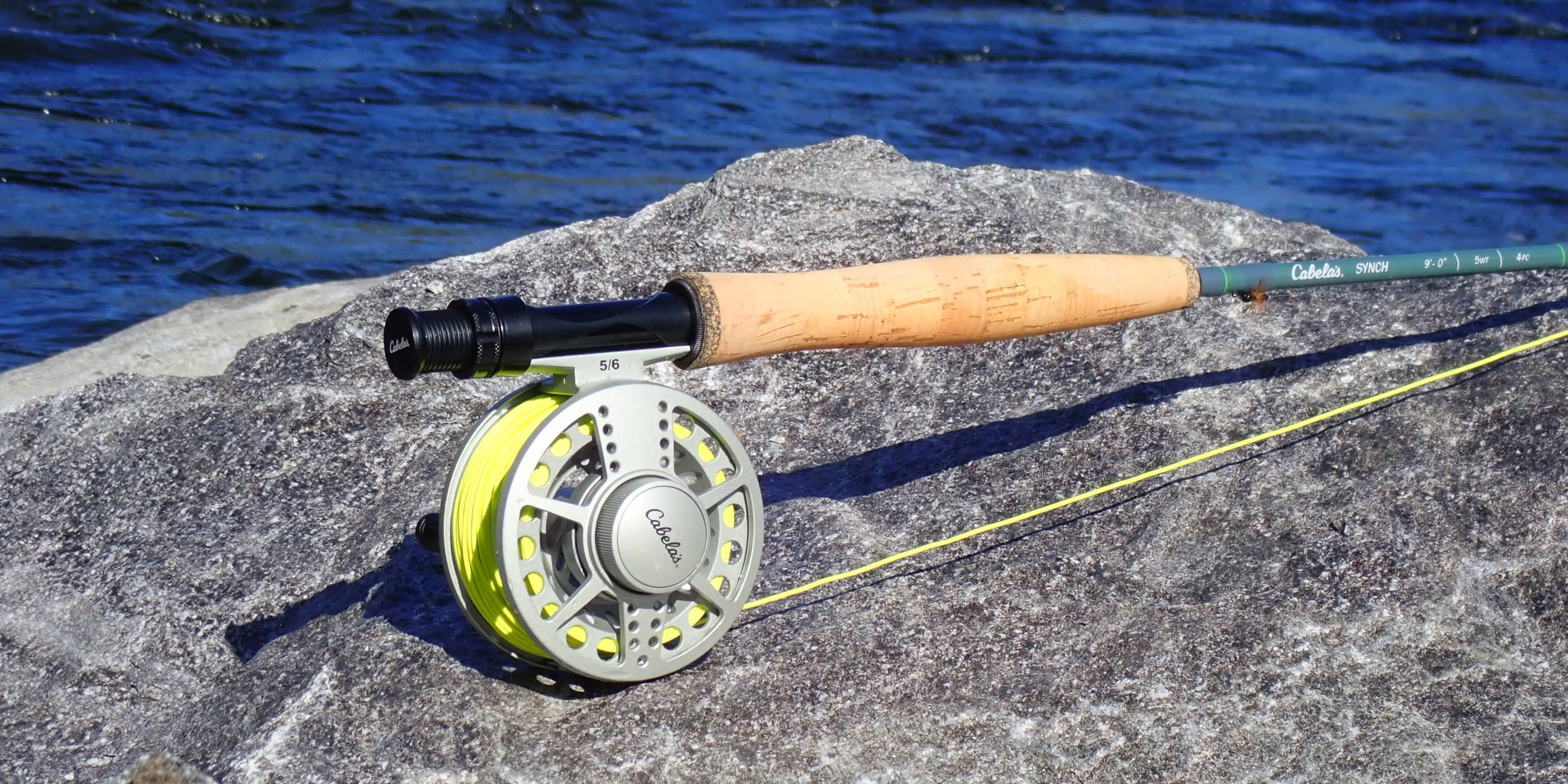 6a7dc8f43 Cabela s Synch Fly Rod   Reel Combo Review