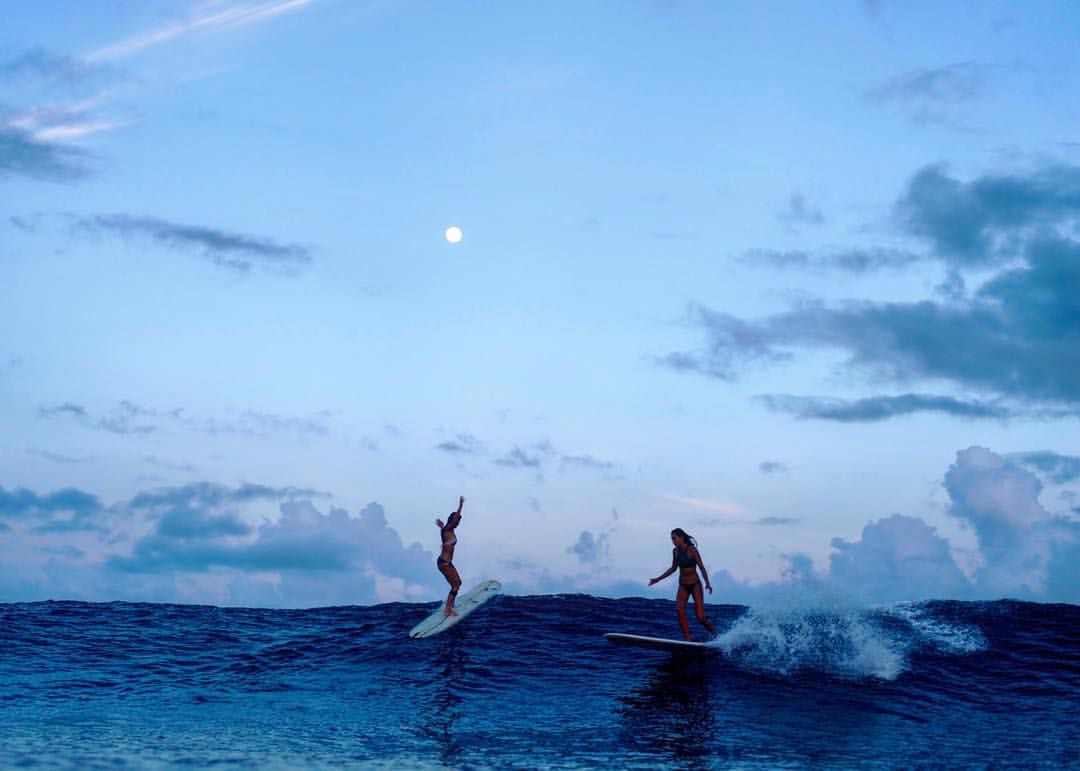Morgan Maassen Morganmaassen On Instagram Dancing With The Indian Ocean The Full Moon Surfing Ocean Photo