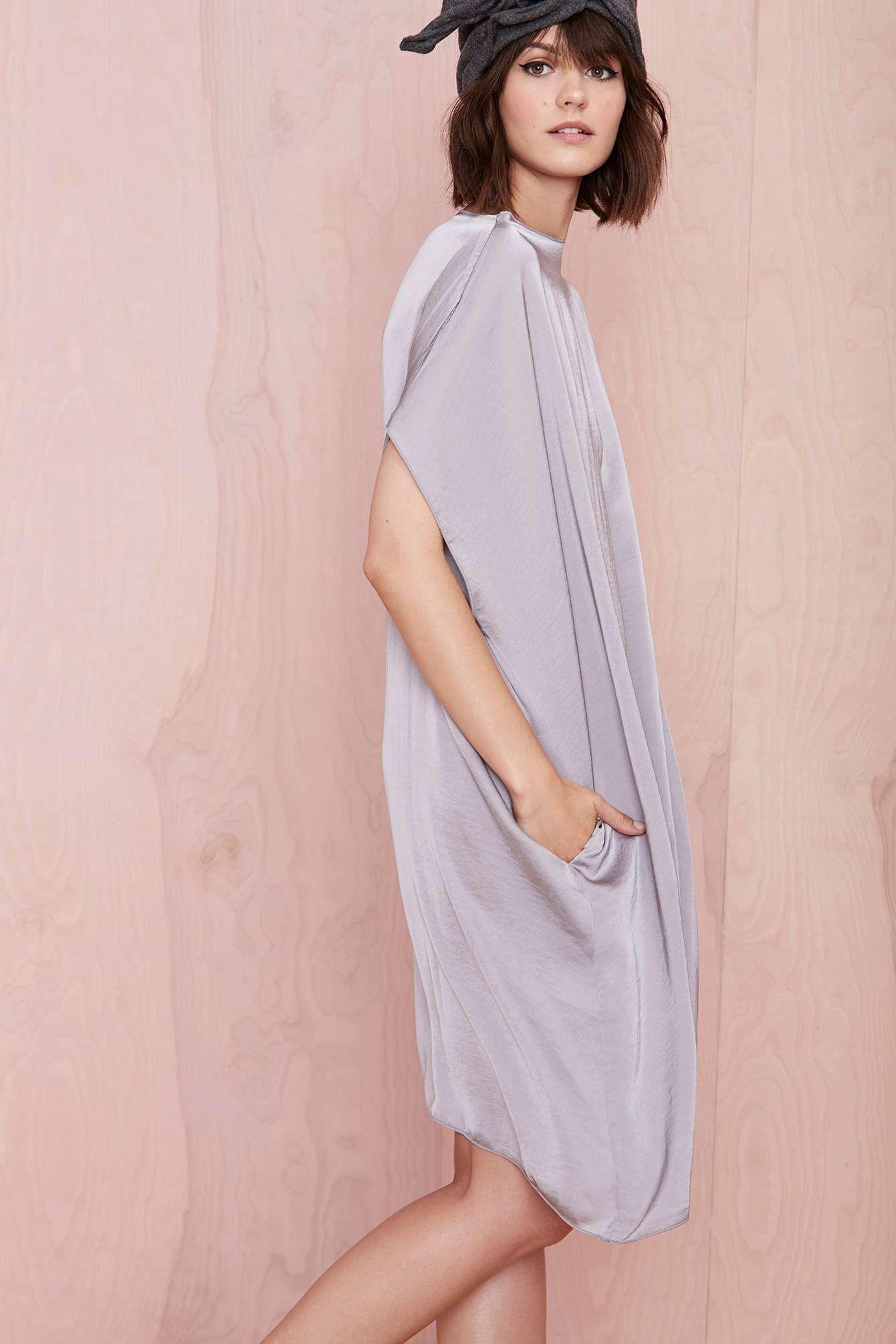 Hot pink maternity maxi dress  Cheap Monday Sky Dress  FRENCH WOMAN  Pinterest  Mondays Clothes