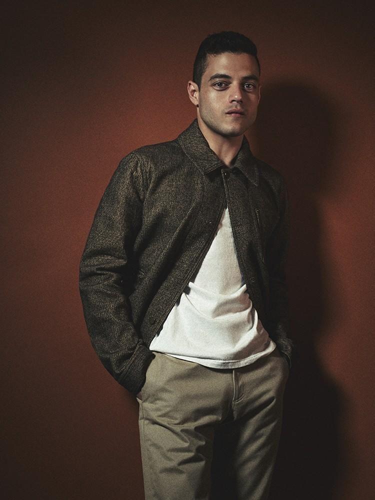 Rami Malek Poses For Interview Talks Turning A Corner As An Actor Rami Malek Sami Malek Rami Said Malek