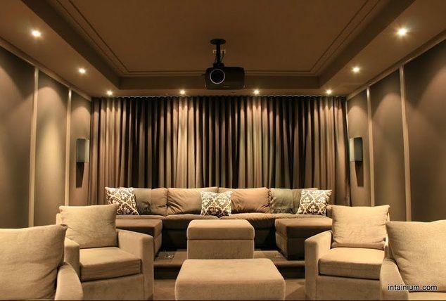 home theatre lighting ideas. Intainium Home Cinemas - Media Room Toronto Theatre Lighting Ideas