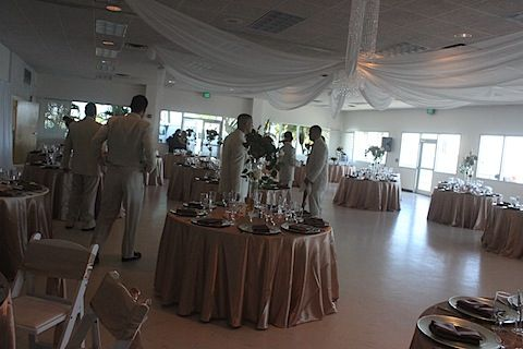 Inside Of The Clearwater Rec Center Wedding Venues Beach Planning