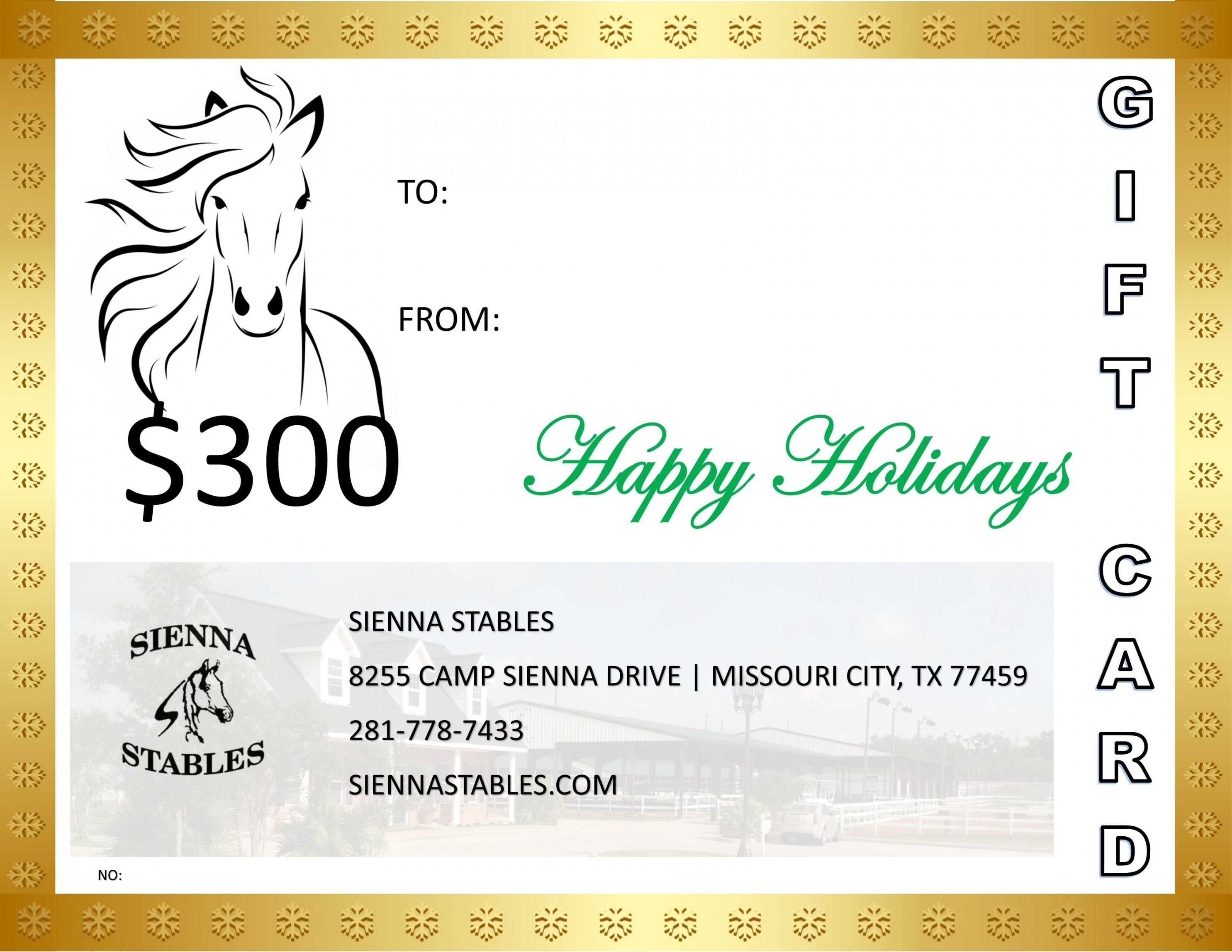 Get Our Image Of Horseback Riding Gift Certificate Template Gift Certificate Template Certificate Templates Christmas Gift Certificate Template Horseback riding lesson gift certificate template
