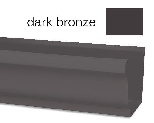 Gutters Dark Bronze Tile Accent Wall Shower Floor House Exterior
