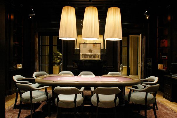 Full House 12 Stylish Poker Rooms Poker Room Room Vip Room