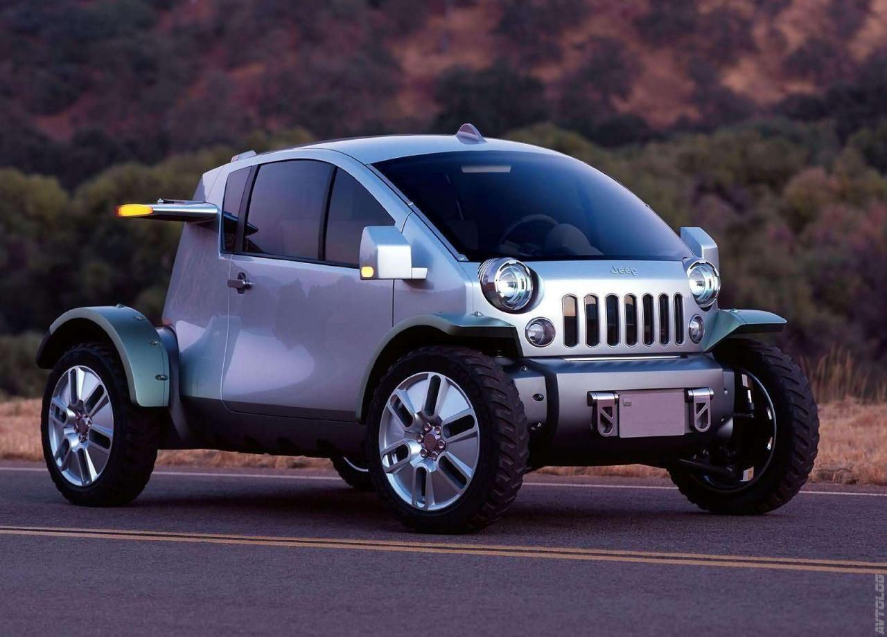 2003 Jeep Treo Concept Jeep concept, Jeep truck, Concept