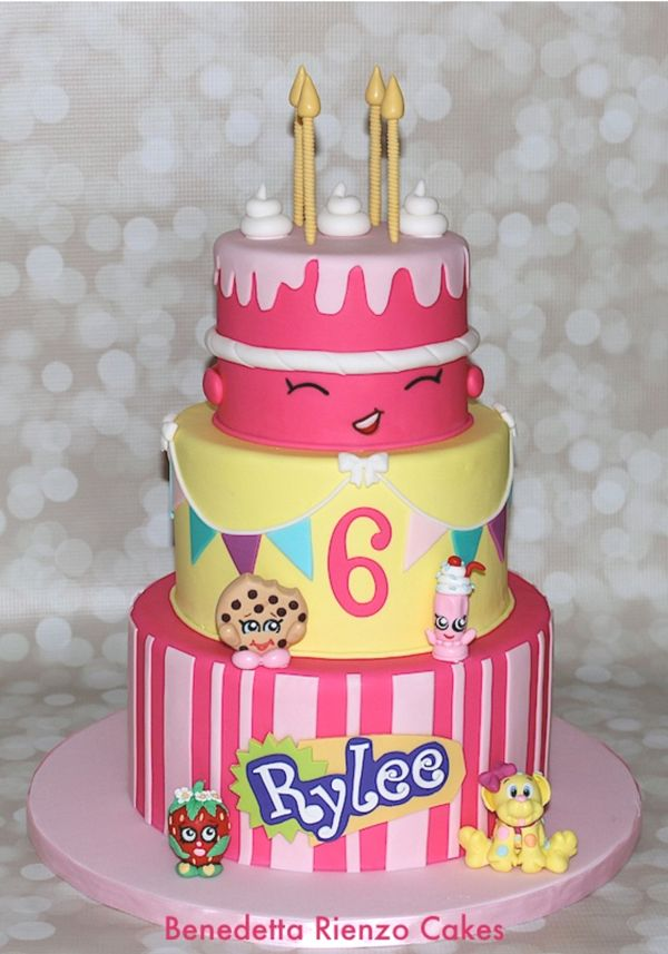 10 Adorable Shopkins Cakes That Will Wow Your Guests Pinterest