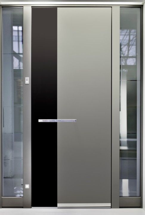 Metalltür große moderne metalltür 25 coole haustür designs für häuser fotos