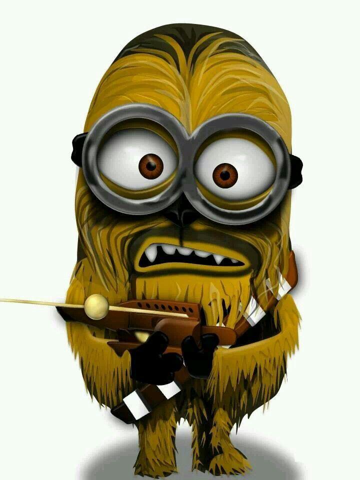 Chewbacca Minion Minion