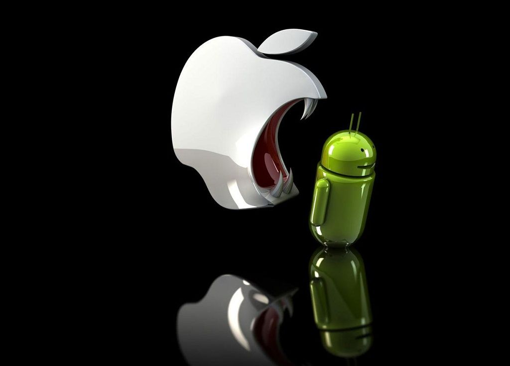 Apple Android Funny Black Background Apple Wallpaper Iphone