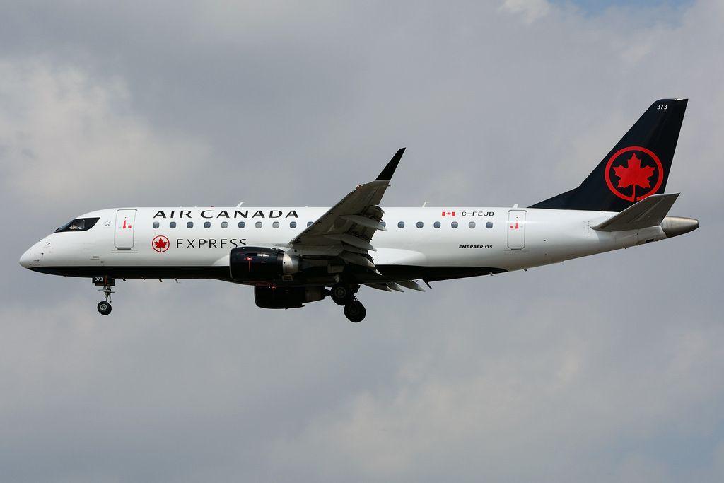 Air Canada Express Fleet Sky Regional Embraer E175 Details And