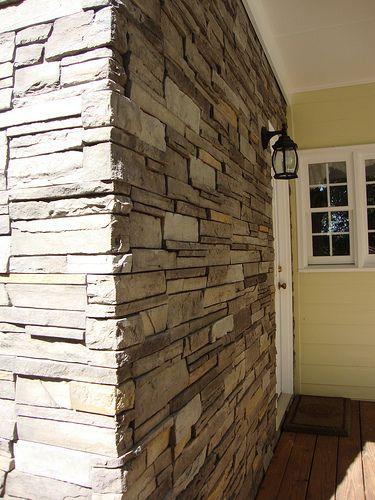 Versetta Stone Sterling Ledgestone Outside Corner Siding Pinterest Basements Exterior