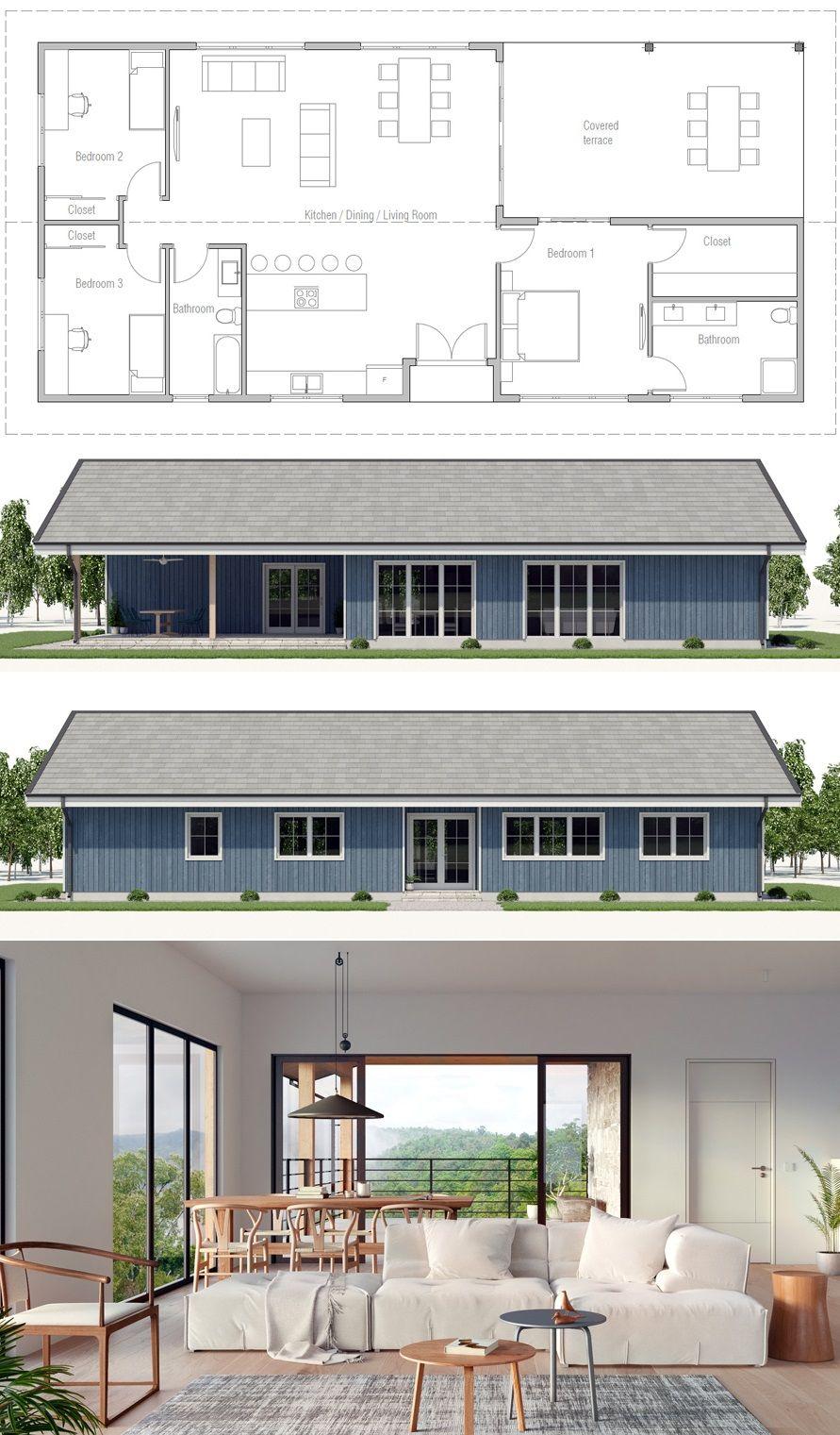 Petite Maison, Plan De Maison, Maison
