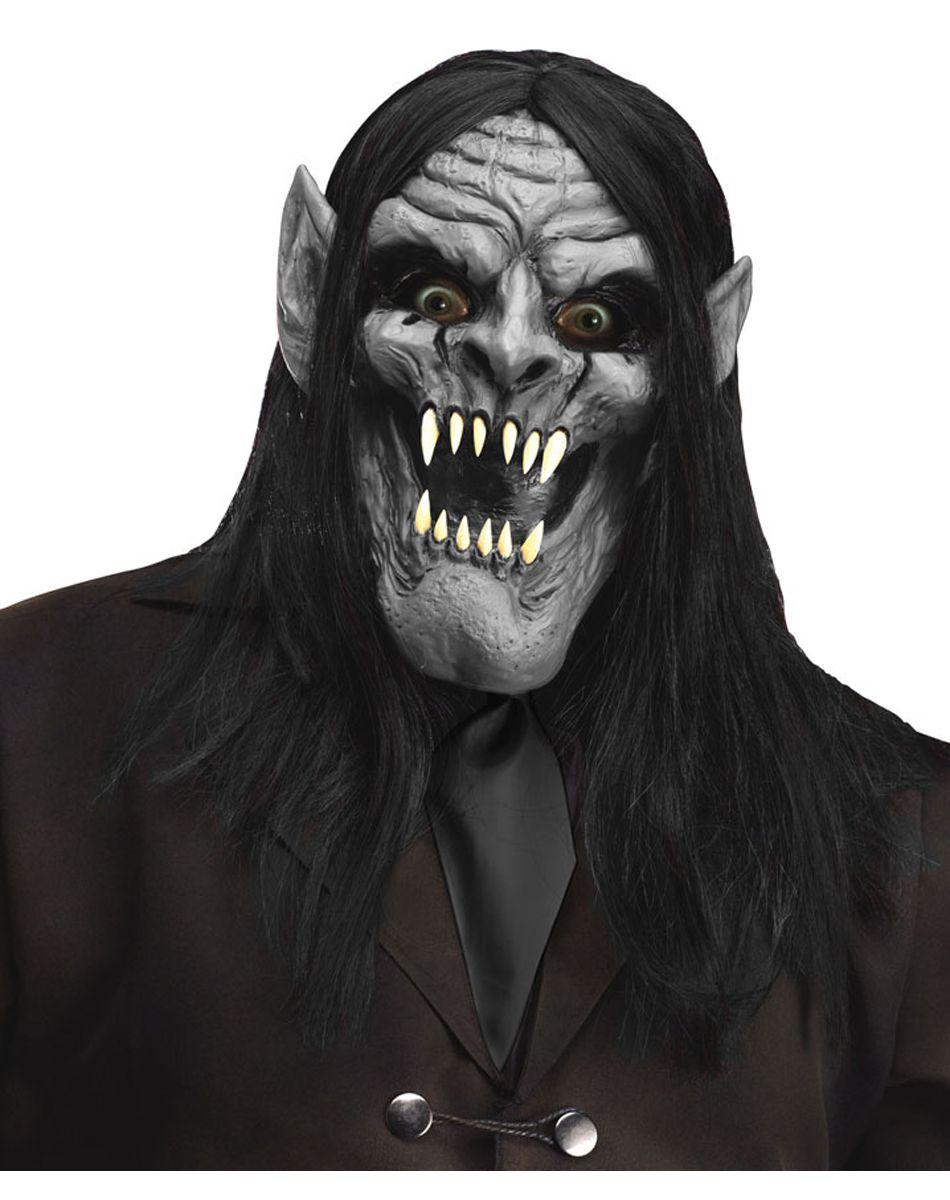Demon Vampire Mask – Spirit Halloween | EVIL PINS | Pinterest ...