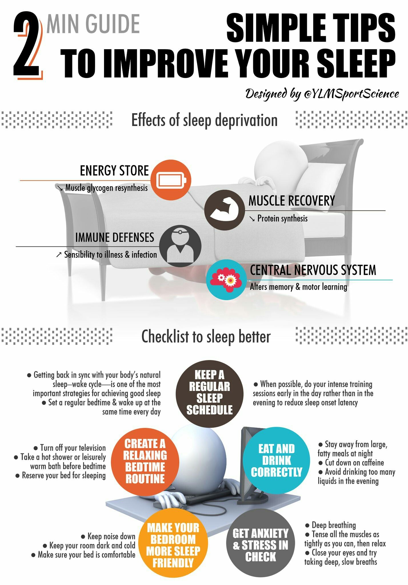Improve your sleep with this quick checklist improve