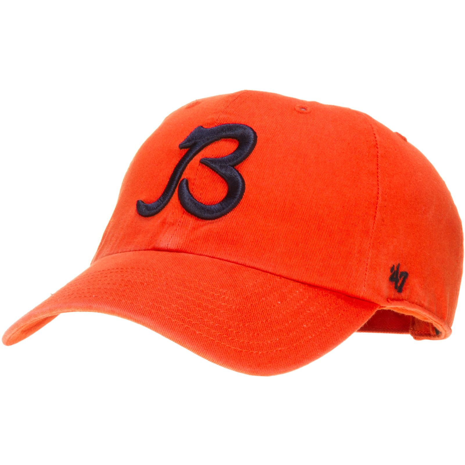 Chicago Bears Orange Adjustable Hat With Script B Logo By 47 Brand Chicago Bears Chicagobears Chicago Bears Adjustable Hat Hats