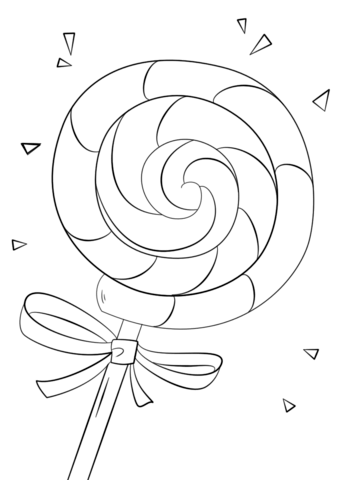 Lollipop Coloring Page Candy Coloring Pages Free Printable Coloring Pages Coloring Pages For Kids