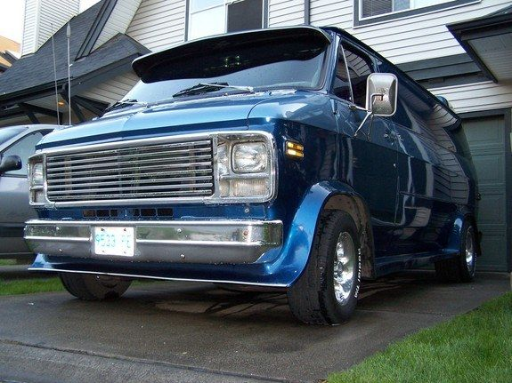1978 Gmc Vandura Cool Vans Custom Vans Chevy Van