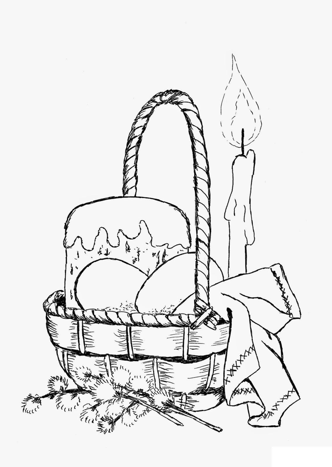 Раскраска Пасха - детские раскраски распечатать бесплатно ...
