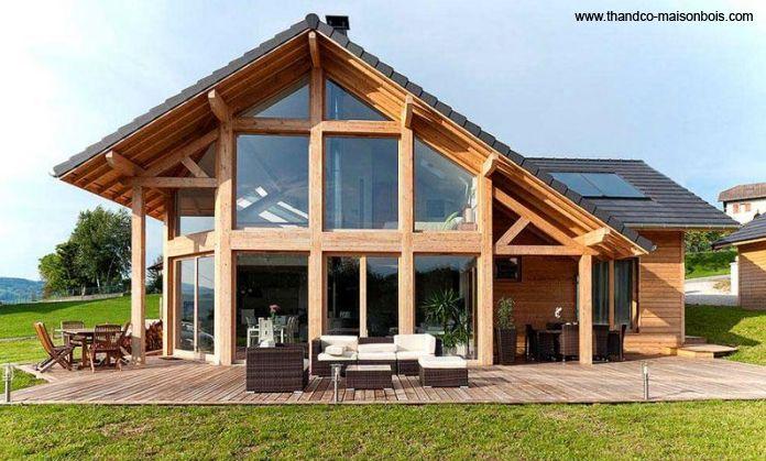 Maison demi-ronde 6 Pans Oriane - Surface au sol  jusquu0027à 140 m2