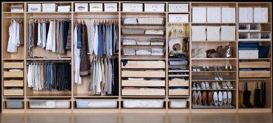 Distribucion pax armario pinterest armario vestidor vestidor y muebles - Organizar armarios empotrados ...