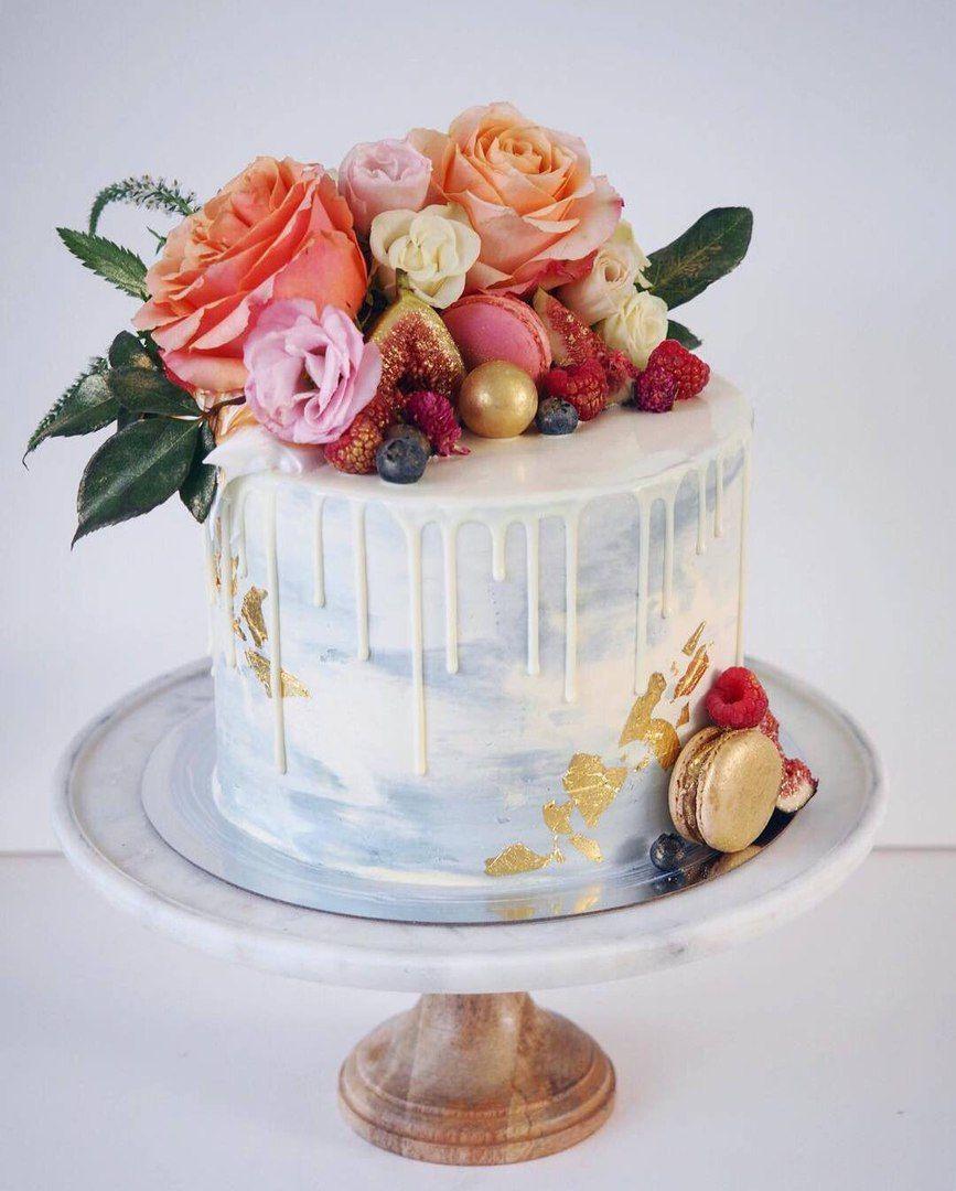 AMEN FASHION | VK | Floral cake, Cake design, Cake