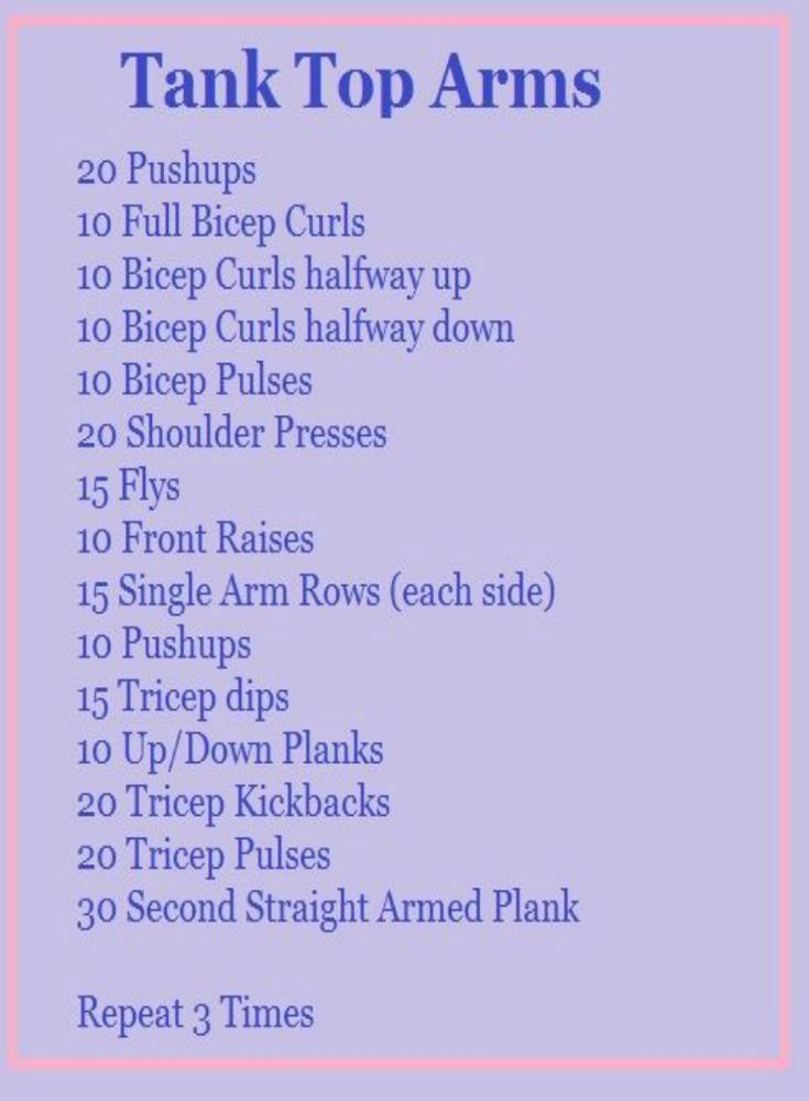15+ Super Effective Workouts To Tone Your Arms At Home (free videos) -