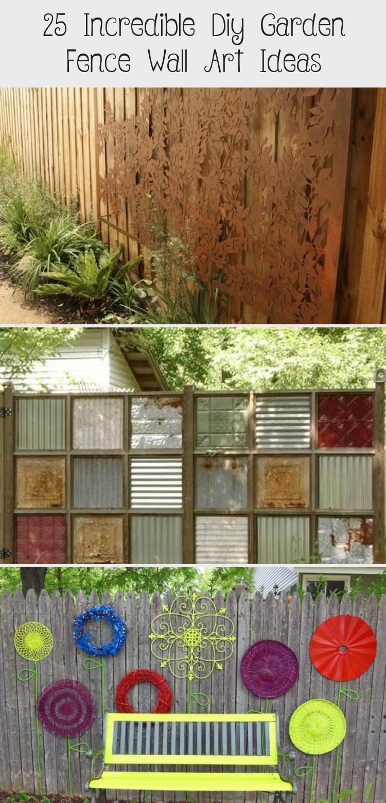 Photo of 25 Incredible Diy Garden Fence Wall Art Ideas – Garden