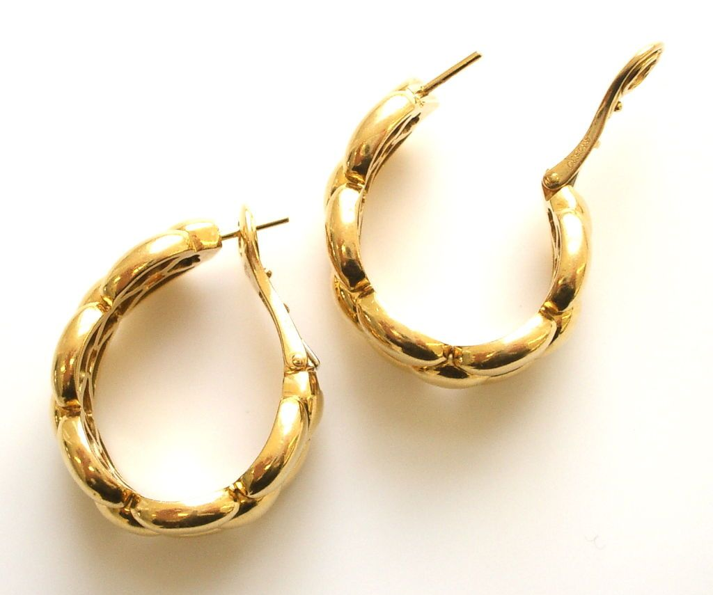 Find This Pin And More On Simple Gold Earrings