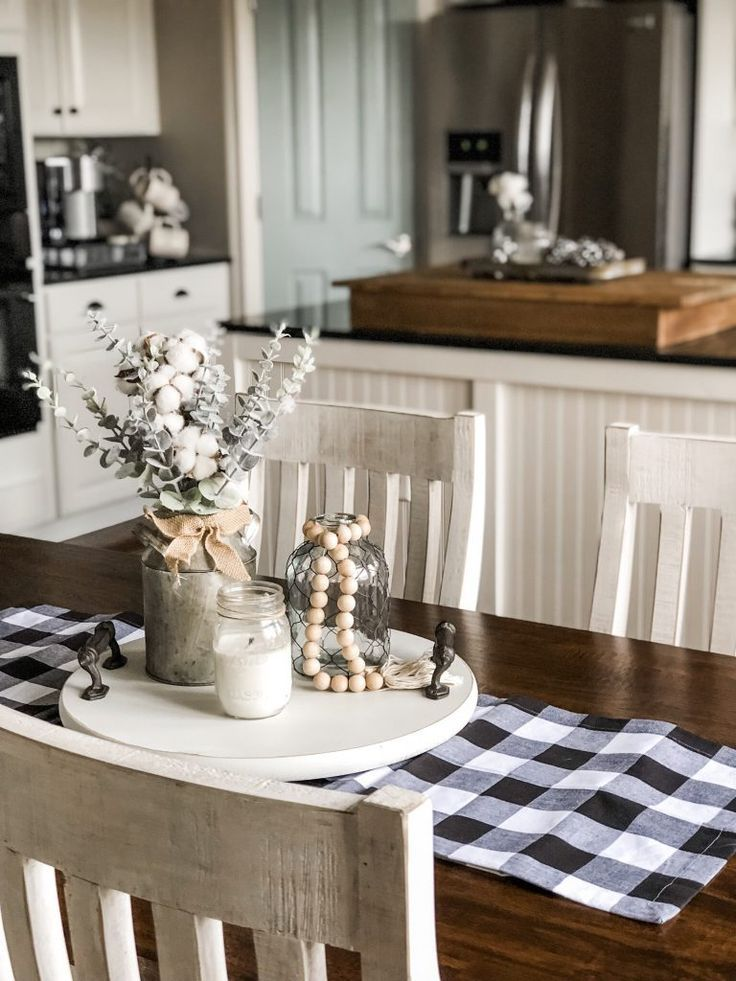 My new classic farmhouse kitchen table from head springs depot by wilshire collections home decor also rh pinterest