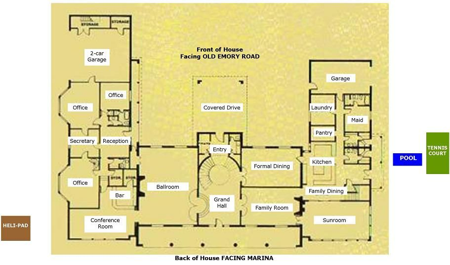 butcher mansion main floor Home Ideas Pinterest Mansion - fresh blueprint maker website