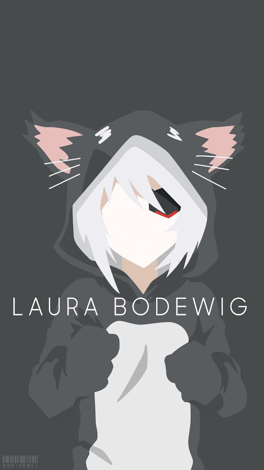 Laura Bodewig (Neko) - Infinite Stratos Wallpaper
