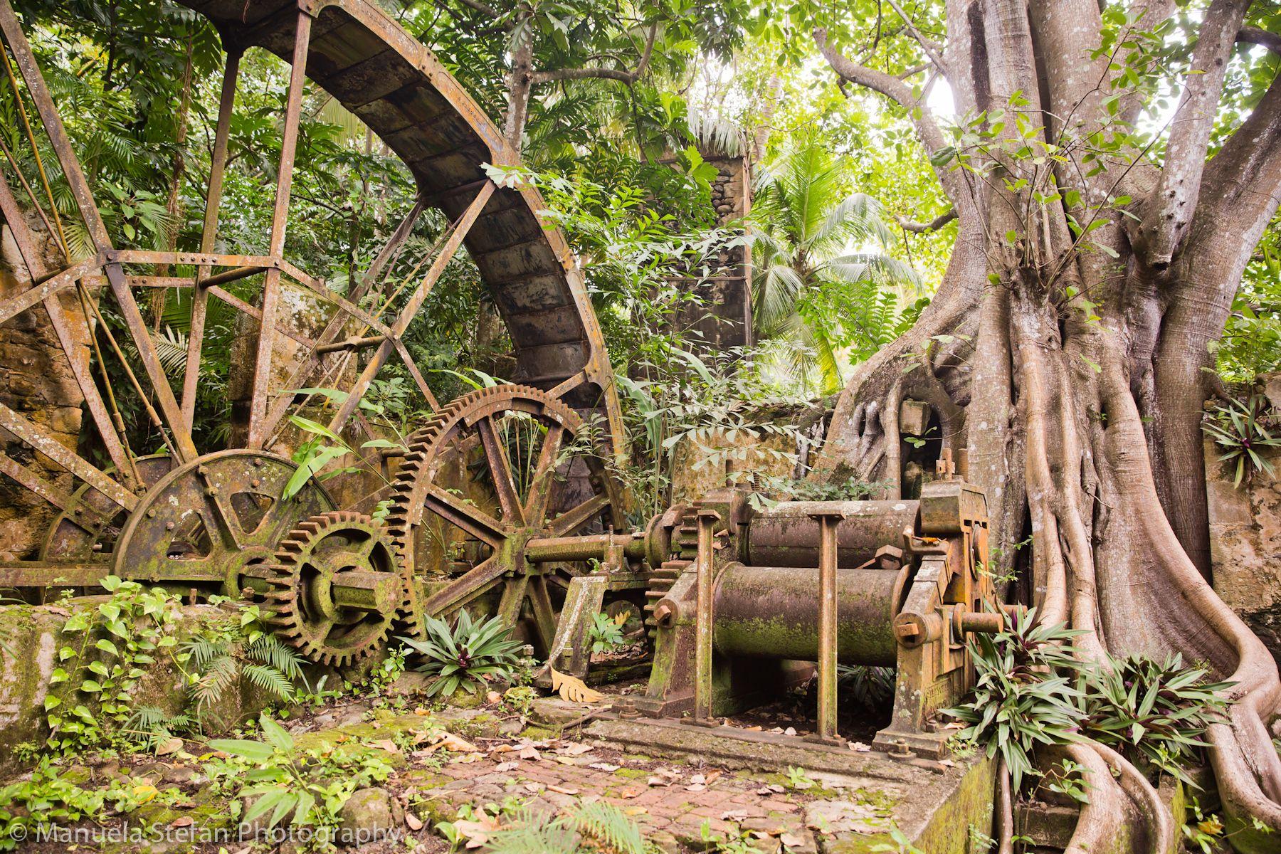 18th century caribbean sugar mill St lucia, Heritage
