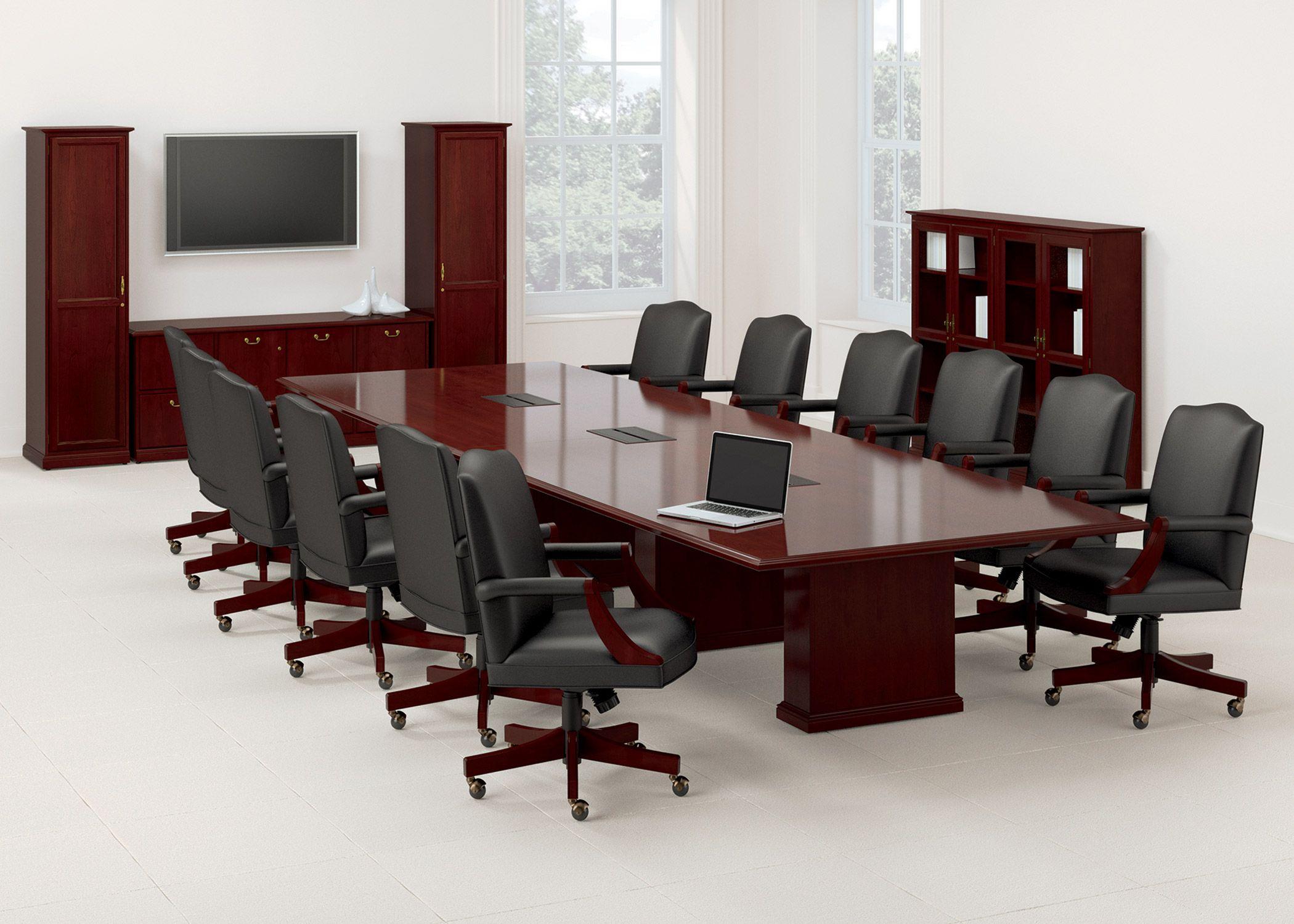 Products National Office Furniture Barrington Table Office Table And Chairs Furniture Conference Room Tables