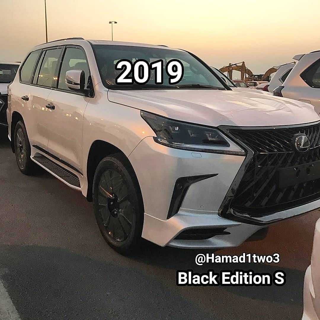 Lộ Diện Lexus Lx570 Black Edition S Va Toyota Land Cruiser