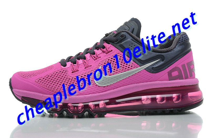 Club Purple Nike Air Max 2013 Womens Black 555363 603