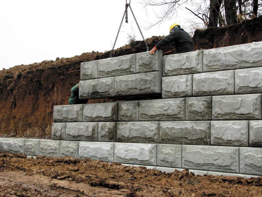 Precast Concrete Retaining Wall Blocks Home Designs Insight Building Your Concrete Retaini Concrete Retaining Walls Retaining Wall Backyard Retaining Walls