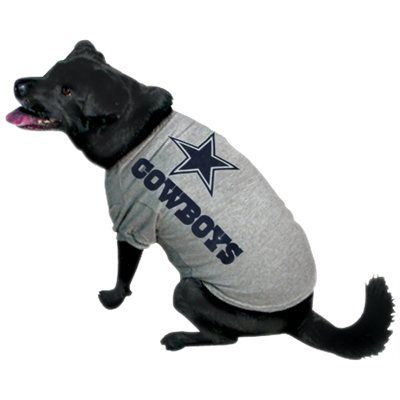 Dallas Cowboys Ash Pet T-shirt