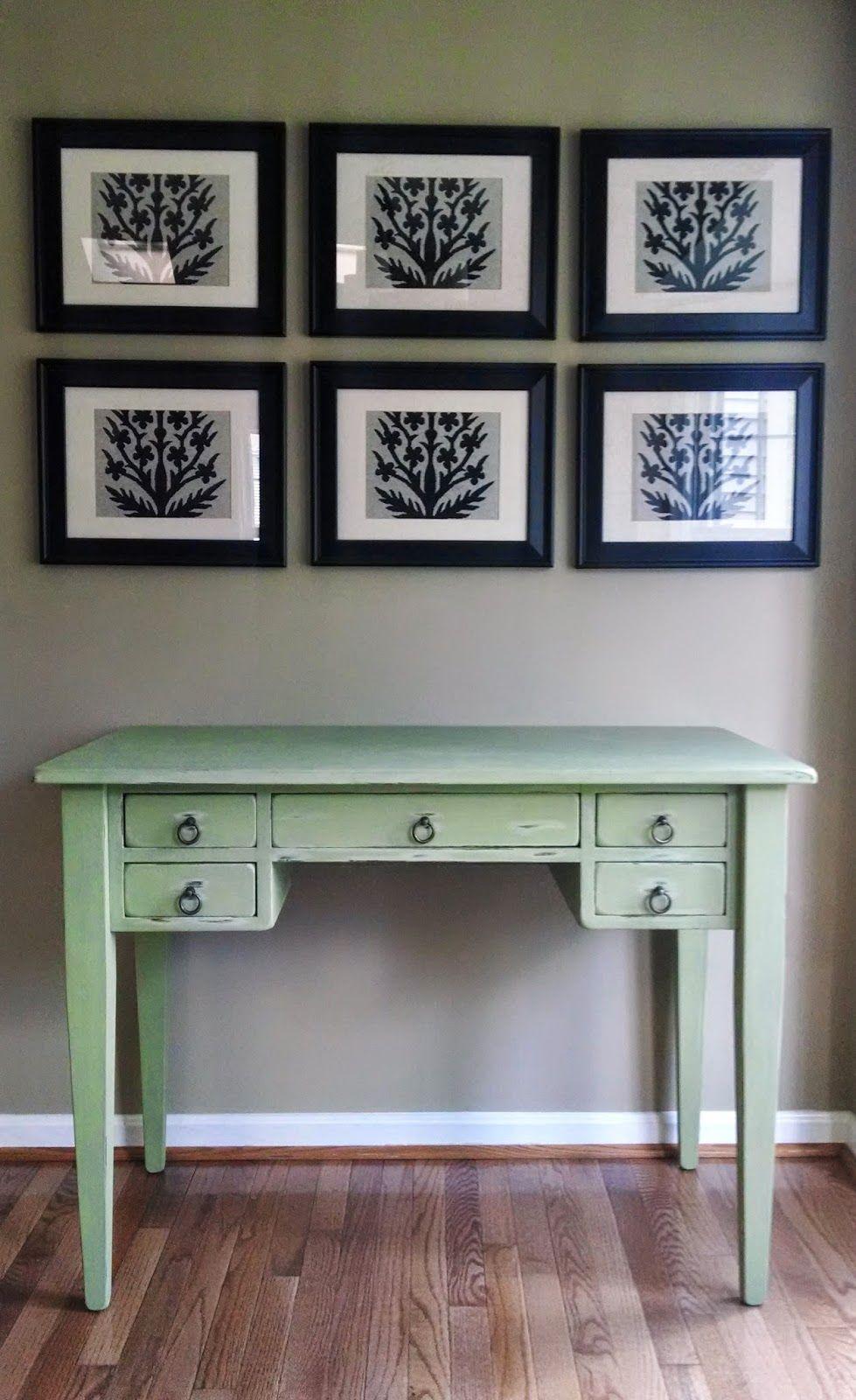 Sage Green Desk Dyi Furniture Home Decor Decor