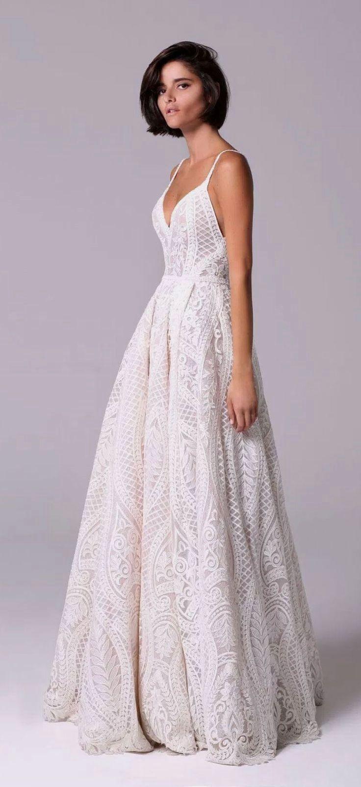 White bride dresses brides imagine finding the most appropriate
