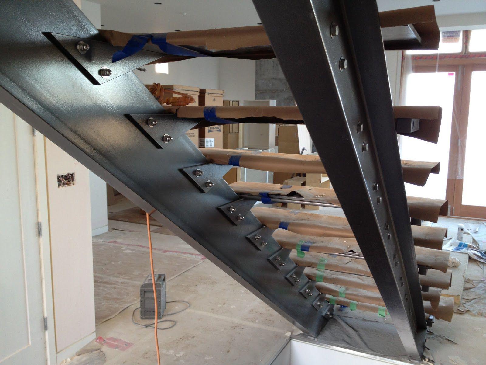 Préférence Ronse Massey Developments Blog: Steel Stair Stringers | Escaliers  HX14